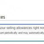 ebayで初出品後すぐにはリミットアップの申請できない
