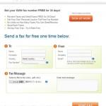 「MyFax」ネット経由でFAX送信ができるサイト